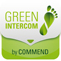 Green Intercom by Schneider Intercom